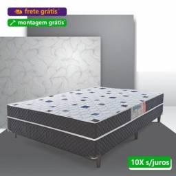 Título do anúncio: Cama Box Casal Umaflex Nova Entrega Grátis