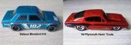 Hot Wheels Lote com 02 miniaturas 1:64