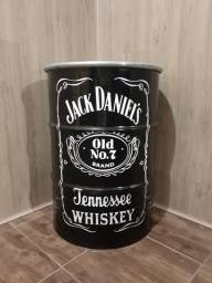 Tambor decorativo grande Jack Daniel's