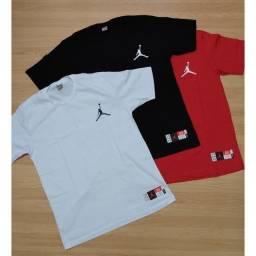 Camiseta Unissex Jordan  100% Algodão.