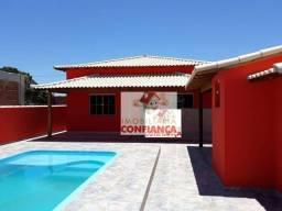 Casa com 2 dormitórios à venda por R$ 220.000,00 - Bairro Nova Califórnia - Cabo Frio/RJ