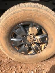 Vendo 4 pneus Fórmula 265/70/16