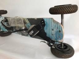 Skate Mountainboard Importado - Não é elétrico!
