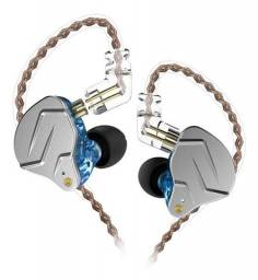 Fone de Ouvido In Ear Kz ZSN Pro Retorno de Palco Profissional + Case