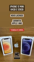 iPhone 12 e 12 Mini - Novo Lacrado