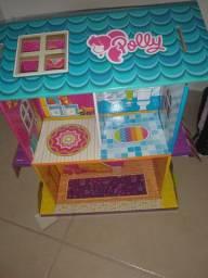 Casa de boneca da Polly