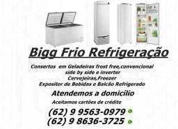 Assistência técnica,consertos em:Geladeiras freezers