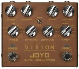 Pedal de Modulações Joyo Vision Dual Modulation(Novo na caixa)