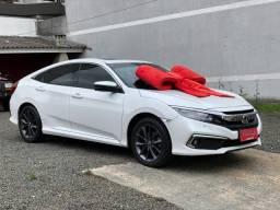 Honda Civic 2020 Turbo *Exclusivo*Revisado em concessionária