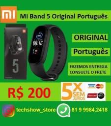 Mi Band 5 R$ 160 pix/dinheito - cartão R$180-Cartao 5x Sem Juros
