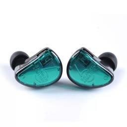 Fone de Ouvido In Ear KZ AS06 Retorno de Palco Profissional + Case
