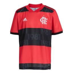 Camisa do Flamengo I Adidas Vermelha 2021/22 ( TAM G)