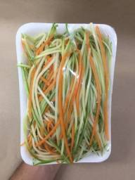 kit de verduras higienizadas e picadas