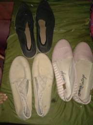 Lote de sapatilha  20,00