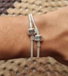 Pulseira Bracelete para Berloques Prata 925