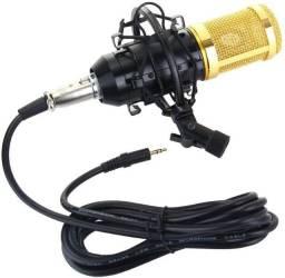 Microfone Estúdio Profissional Condensador BM-800