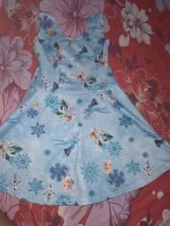 Vestido da frozen bem conservado