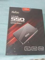 SSD 128Gb Netac  Novo Lacrado seu note ou Pc mais rápido