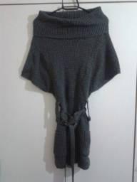 Sobre Legging/Vestido com Cinto P