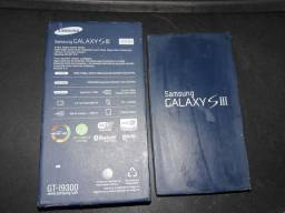 2 Caixa, Samsung Galaxy S3 Nacional e importado  i9300 / i9300i