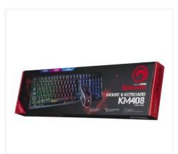 Combo Mouse E Teclado Gamer Scorpion <br>Km- 408<br>