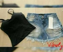 Saia jeans Kally