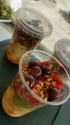A melhor salada de frutas da ilha copo de 500ml