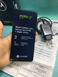 MOTO G9 PLUS - Tela 6.8 - 4 câmeras 64 MP - 128 GB