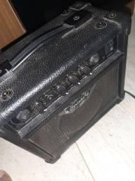 Amplificador strinberg com distorção