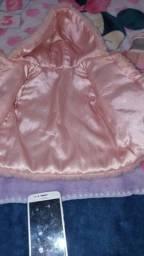 Sapato melissa semi novo e uma blusa de frio infantil menina quente lote 180.00