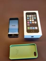 Iphone 5S Space Gray 32GB - Funcionando - Usado/Zerado