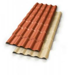 Telhas em PVC +leves +resistentes +bonitas