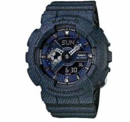 Relógio Casio Feminino Baby-G Jeans Anadigi BA110dc-2a1dr comprar usado  Rio de Janeiro