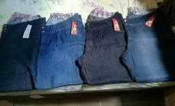 Calça Jeans feminina plus size tam 64