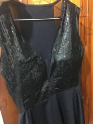Vestido de festa paete
