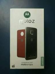 Motorola Moto Z play preto completo. Cometa Celular Anápolis