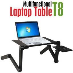 Mesa suporte articulado para Notebook com Mousepad com ventilação
