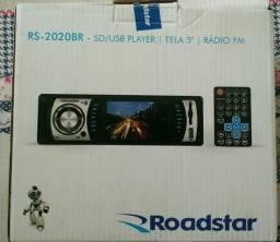 "Radio / tela 3""/ USB/Sd ( instalado)"