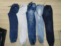 Promoção calças jogger masculinas 1 $75 ou 3 por $200
