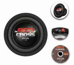 Subwoofer triton red cross 8 pol 500w rms 4 ohms