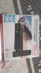 Conversor digital completo sem a antena