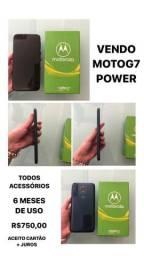 Vendo moto G7 Power