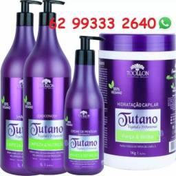 Kit Tutano E D-pantenol 100% Vegano Toollon Cosméticos 4x1