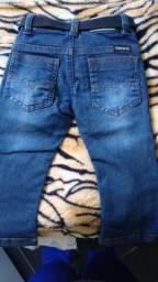 Calça jeans bebê nova