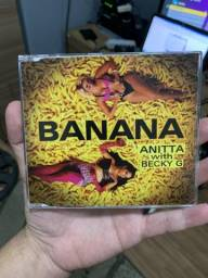 CD Anitta - Single Becky G - BANANA (fã made)