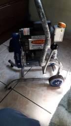 Maquina de desentupir esgoto