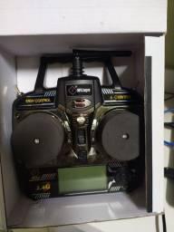 Controle infravermelho para helimodelo