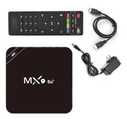 TV BOX MX9 TRANSFORMA SUA TV EM SMART DANDO ACESSO A YOUTUBE E NETFLIX