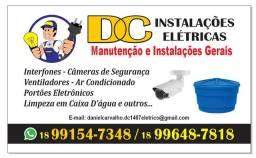 DC instalações elétrica