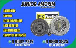 Kit de embreagem Gol/Celta/Civic/City/Onix/Hb20 Radiador/Amortecedor/Bateria